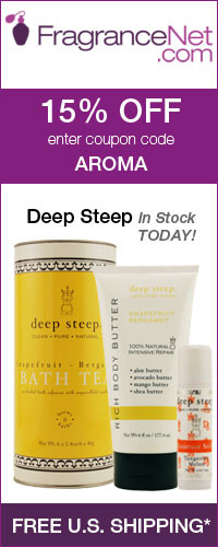 15% off when you enter coupon code AROMA at Fragrancenet.com