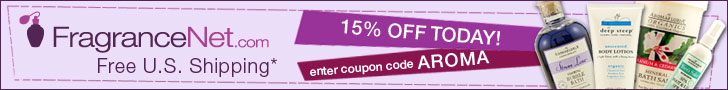 enter coupon code AROMA for 15% off today